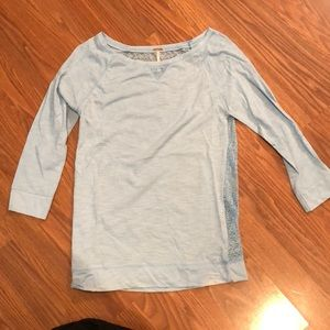 Poof! Tops - 3/4 sleeve shirt